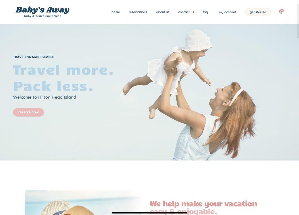 Babys Away HHB Marketing & Web design Hilton Head South Carolina